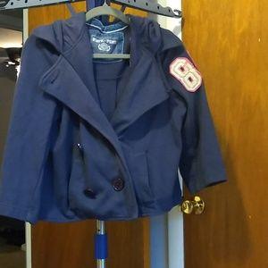 PINK Victoria secret cotton pea coat